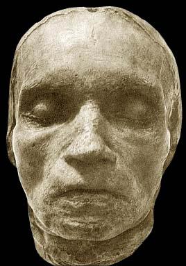 Totenmaske von Beethoven gefertigt von Josef Danhauser